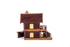 Ξύλινο πρότυπο σπιτιών στοκ φωτογραφία με δικαίωμα ελεύθερης χρήσης