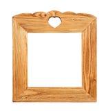 Ξύλινο πλαίσιο εικόνων Στοκ εικόνες με δικαίωμα ελεύθερης χρήσης