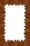 Ξύλινο πλαίσιο κινούμενων σχεδίων Στοκ φωτογραφία με δικαίωμα ελεύθερης χρήσης