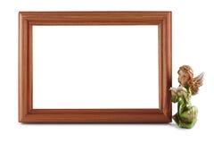 Ξύλινο πλαίσιο Στοκ εικόνα με δικαίωμα ελεύθερης χρήσης