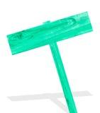 Ξύλινο σημάδι που απομονώνεται στο άσπρο ξύλο σχεδίων υποβάθρου παλαιό Στοκ εικόνα με δικαίωμα ελεύθερης χρήσης