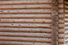 Ξύλινο σπίτι από βαθμολογημένος στοκ εικόνα με δικαίωμα ελεύθερης χρήσης