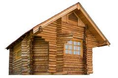 Ξύλινο σπίτι κούτσουρων Στοκ φωτογραφία με δικαίωμα ελεύθερης χρήσης