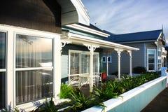 Ξύλινο σπίτι της Νέας Ζηλανδίας Στοκ Φωτογραφίες