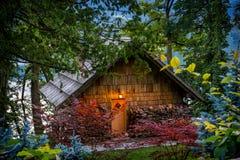 Ξύλινο σπίτι Στοκ Εικόνες