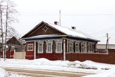 Ξύλινο σπίτι Στοκ φωτογραφίες με δικαίωμα ελεύθερης χρήσης