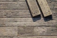 Ξύλινο σχέδιο πατωμάτων με τις ξυλείες Στοκ φωτογραφίες με δικαίωμα ελεύθερης χρήσης