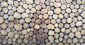 Ξύλινο σχέδιο υποβάθρου κούτσουρων Στοκ Εικόνα