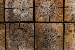 Ξύλινο σχέδιο υποβάθρου σύστασης τετραγώνων Στοκ φωτογραφία με δικαίωμα ελεύθερης χρήσης