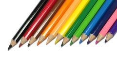 Ξύλινο σχολείο χρώματος Στοκ φωτογραφίες με δικαίωμα ελεύθερης χρήσης