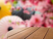 Ξύλινο τραπεζάκι σαλονιού Στοκ Εικόνες
