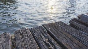 Ξύλινο υπόβαθρο αποβαθρών Στοκ φωτογραφίες με δικαίωμα ελεύθερης χρήσης