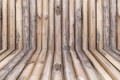 Ξύλινο υπόβαθρο κούτσουρων κατασκευασμένο στοκ φωτογραφία