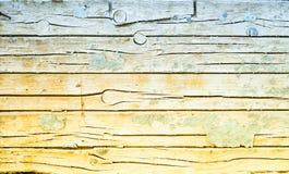 Ξύλινο υπόβαθρο με το παλαιό χρώμα Στοκ Φωτογραφίες