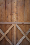 Ξύλινο υπόβαθρο πορτών Στοκ Εικόνες