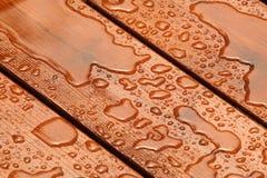 Ξύλινο υπόβαθρο προστασίας Στοκ Εικόνα