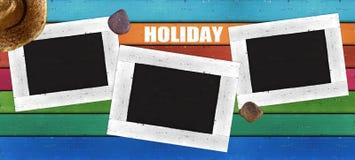 Ξύλινο υπόβαθρο πλαισίων Στοκ εικόνες με δικαίωμα ελεύθερης χρήσης