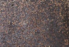 Ξύλινο υπόβαθρο σχεδίων κεραμιδιών στεγών Στοκ Φωτογραφία