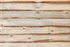 Ξύλινο υπόβαθρο σύστασης με το σχέδιο φύσης Στοκ Εικόνες