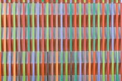 Ξύλινο υπόβαθρο τέχνης Δημιουργική ζωηρόχρωμη ταπετσαρία Αποκατεστημένη παλαιά ξύλινη σύσταση Ξύλινη επιτροπή φρακτών επιφάνειας  Στοκ φωτογραφία με δικαίωμα ελεύθερης χρήσης