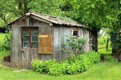 Ξύλινο υπόστεγο Στοκ εικόνα με δικαίωμα ελεύθερης χρήσης