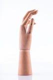 Ξύλινο χέρι Στοκ Εικόνα