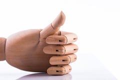 Ξύλινο χέρι Στοκ Φωτογραφία