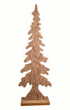 Ξύλινο χριστουγεννιάτικο δέντρο Στοκ Φωτογραφίες