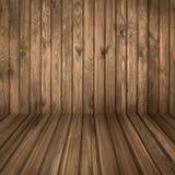 Ξύλινο δωμάτιο Στοκ φωτογραφία με δικαίωμα ελεύθερης χρήσης
