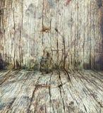 Ξύλινο δωμάτιο Στοκ Εικόνες
