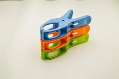 Ξύλινο clothespin Στοκ φωτογραφία με δικαίωμα ελεύθερης χρήσης