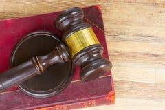 Ξύλινο Gavel νόμου Στοκ εικόνες με δικαίωμα ελεύθερης χρήσης