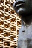 Ξύλινο pavillion Στοκ Φωτογραφίες