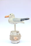 Ξύλινο seagull Στοκ εικόνα με δικαίωμα ελεύθερης χρήσης