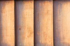Ξύλινο Slats κάθετο υπόβαθρο Στοκ φωτογραφίες με δικαίωμα ελεύθερης χρήσης