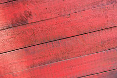 Ξύλινο Slats κόκκινο υπόβαθρο σύστασης Στοκ φωτογραφία με δικαίωμα ελεύθερης χρήσης