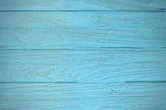 Ξύλινο teak μπλε σύντομο χρονογράφημα ταπετσαριών σύστασης υποβάθρου Στοκ Φωτογραφίες