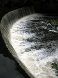 Ξύλινο Weir Hulmes Στοκ Εικόνα