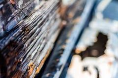 Ξύλο και σκουριά Στοκ φωτογραφία με δικαίωμα ελεύθερης χρήσης