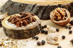 Ξύλο καρυδιάς και γλυκάνισο Στοκ φωτογραφία με δικαίωμα ελεύθερης χρήσης