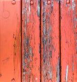 Ξύλο που ξυλεπενδύει το παλαιό ραγισμένο χρώμα Στοκ φωτογραφίες με δικαίωμα ελεύθερης χρήσης