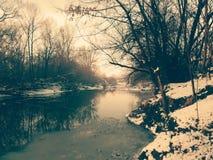 Ξύλο, φυσικό, ποταμός Στοκ εικόνες με δικαίωμα ελεύθερης χρήσης