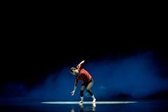Οίκτος οι ίδιοι στη θέα του σκιά-σύγχρονου χορού κάποιου Στοκ Εικόνες
