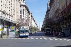 Οβελίσκος του Μπουένος Άιρες, Αργεντινή Στοκ φωτογραφία με δικαίωμα ελεύθερης χρήσης