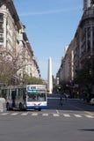 Οβελίσκος του Μπουένος Άιρες, Αργεντινή Στοκ Εικόνα