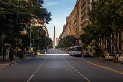 Οβελίσκος του Μπουένος Άιρες Plaza de Λα Republica - το Μπουένος Άιρες, Αργεντινή Στοκ Εικόνες