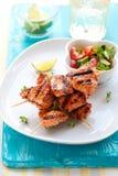 οβελίδια masala κοτόπουλου Στοκ εικόνες με δικαίωμα ελεύθερης χρήσης