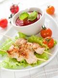οβελός χοιρινού κρέατος στοκ εικόνες με δικαίωμα ελεύθερης χρήσης