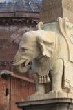 Οβελίσκος Minerva στη Ρώμη Στοκ εικόνα με δικαίωμα ελεύθερης χρήσης