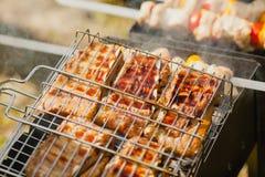 Οβελίδια κρέατος Στοκ Φωτογραφία